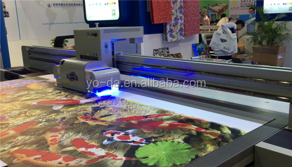 custom wall sticker vinyl floor 3d roll to roll printing machine