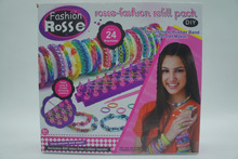 Ultimate Rubber Band bracelet accessory maker rosse-fashaion refill pack colorful rubber band bracelets