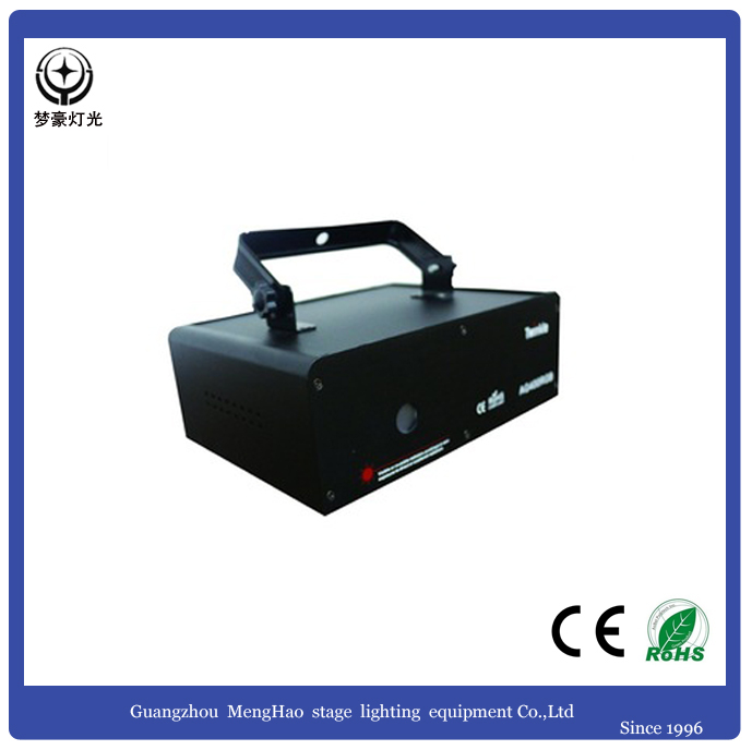 China 3D full colors animation led mini 500 RWB laser light