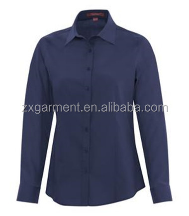 PERFORMANCE LADIES' WOVEN SHIRT office uniform factory