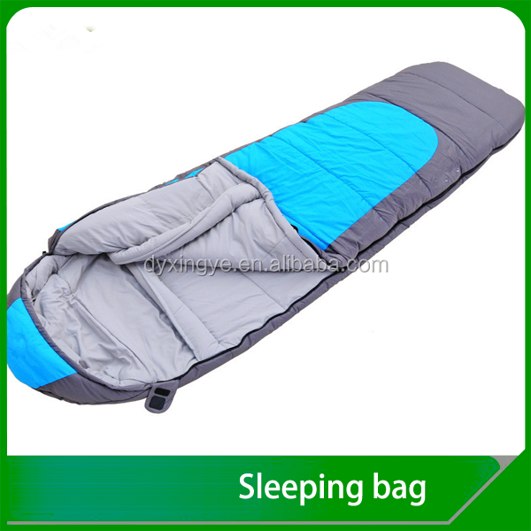 Extremely Warm Mummy shape sleeping bag for cold weather