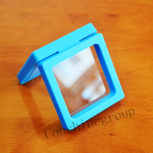 Factory direct sale floating box coin display frame case