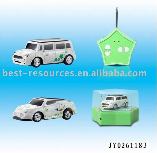 Solar power radio control car