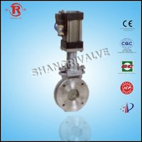 Stainless Steel Pneumatic knife gate valve ul fm