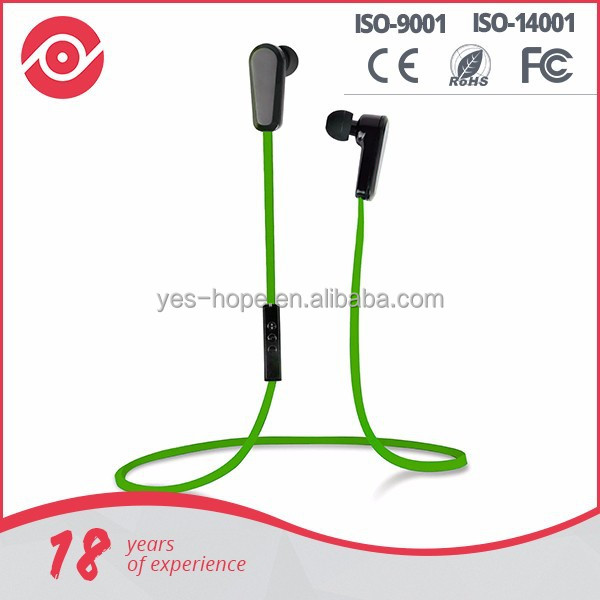 Fashion design wireless stereo bluetooth earphone and headphone