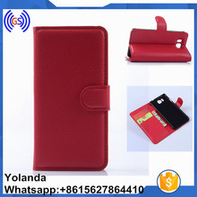 Smart Phone Flip Leather Case Cover For oppo neo 5 Back Cover Leather Case