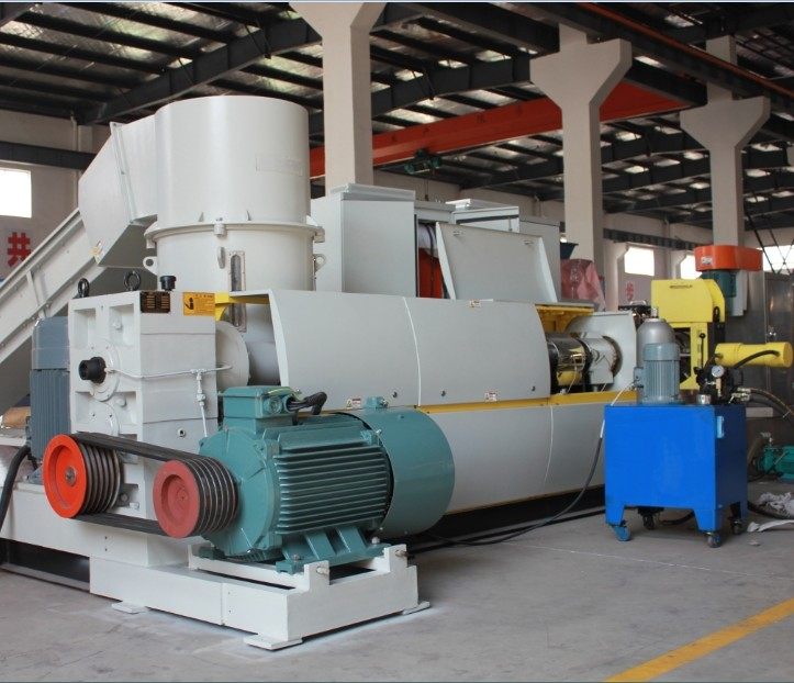 waste pp pe abs eps plastic recycling granulator machine