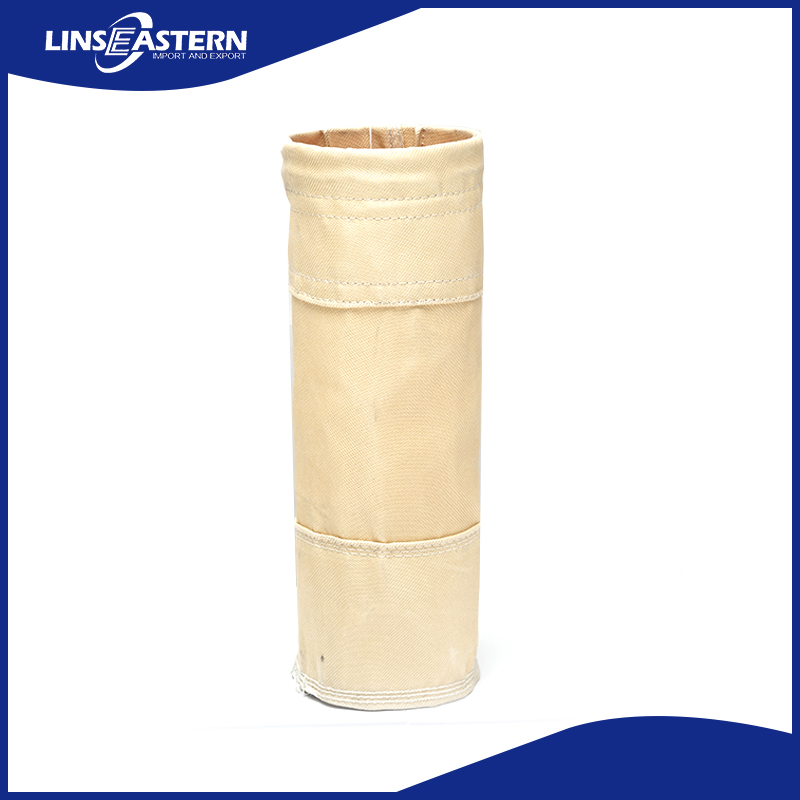 China supplier polyester round filter bag with bottom price