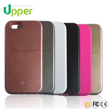 Factory price hottest mobile phone hard cover with power bank function cell led flashing light case for iphone 5 4