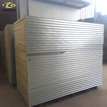Structural Insulated Rockwool Sandwich Panel For With Low Price
