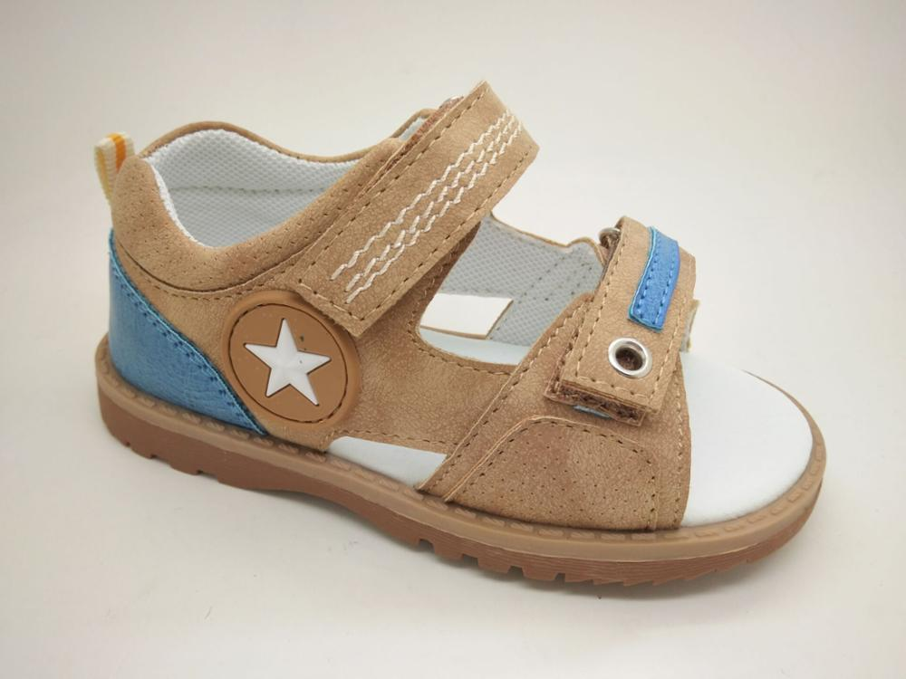 comfortable design summer sandal cute baby boy led sandals