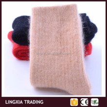 Bulk Wholesale 100% Pure Cashmere Winter Wool Women Socks, Girls Lady Warm Soft Wool Cashmere Socks Winter Women Socks