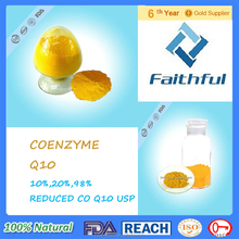 Hot sale coenzyme Q10 USP/Coenzyme Q10 Supplement/plant extraction co q10 whitening skin Purity 98%manufacturer