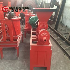Best selling corn cob powder briquette machine