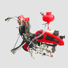 Hand Push Water-based Paint Pneumatic Road Marking Paint Machine