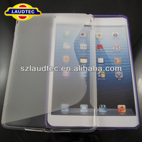 New Solid TPU Gel Case for iPad Air S Shape