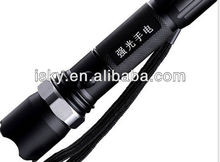 Led strong light flashlight Cree q5 focusing light a torch light rechargeable flashlight manufacturer wholesale