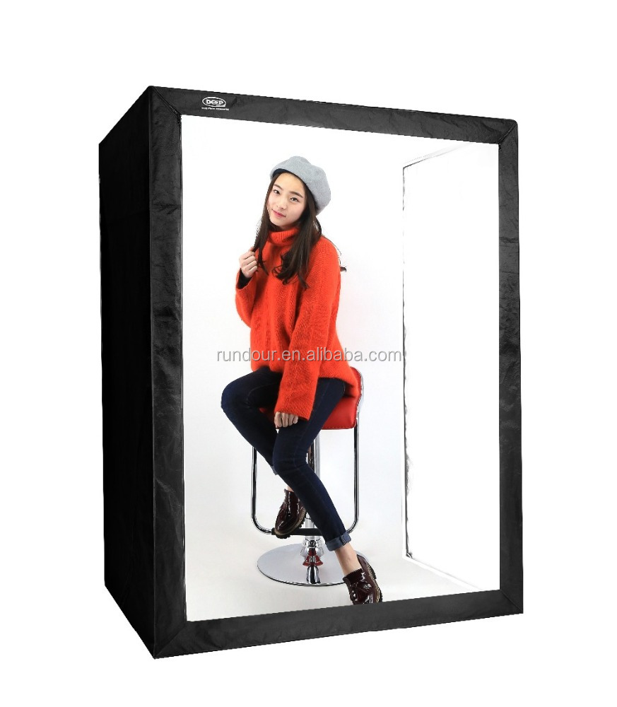 Deep portable 160cm photographic light box photo studio for personal use deep light softbox 6 light photography tent