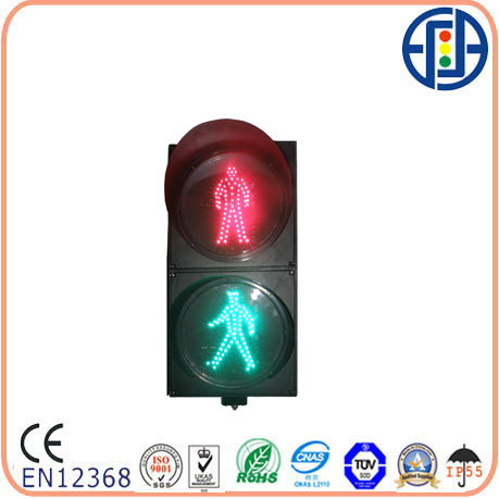 200mm Static Pedestrian Traffic Lamp With No Countdown Timer