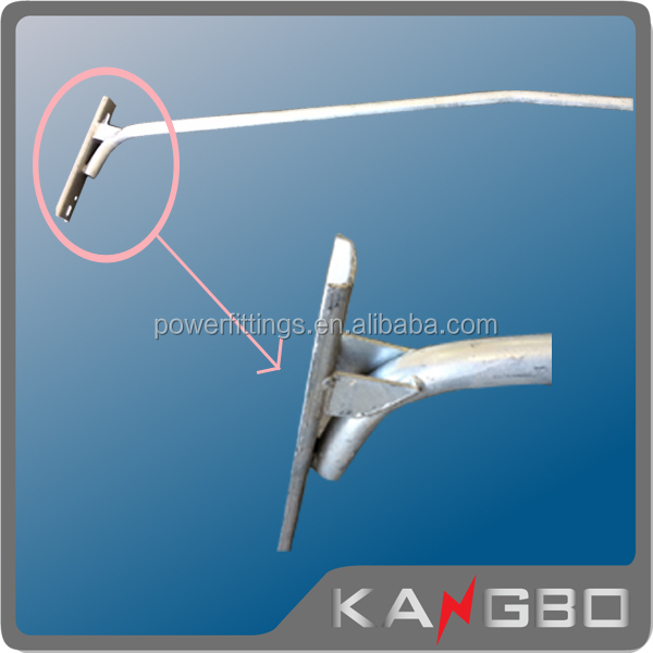 Made in China street pole lighting arm
