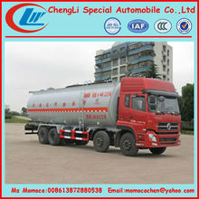 Bulk powder tank truck bulk feed discharge truck 40cbm on sale