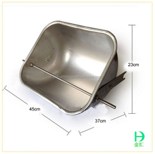 poultry farm equipment made in china pig farm used stainless steel durable feed trough for pigs farrowing crates feeder for pig