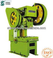 J23-10t small horizontal Open Type mechanical punching Presses/metal stamping machine