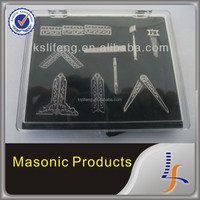 Masonic Gifts with Velvet Box, Masonic working tool gift set