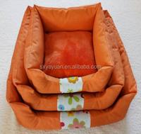 2017 new design decorative dog beds rattan cat basket wicker pet basket for dog