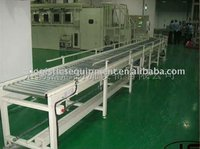 JS Single Chain driving roller conveyer system, Roller conveyor line