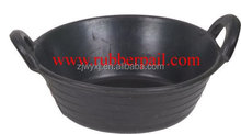 Small rubber Skip,horse feed tubs,Rubber buckets,Small rubber trough