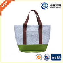 High Quality Fashion Design Felt Bag, Factory New Products Cheap Felt Hand Bag with Tote