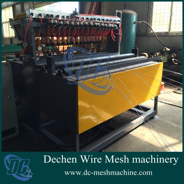 2015 New Machine! Full Automatic Pneumatic Pigeon and Rabbit Breeding Cages Galvanized Mesh Welding Machine