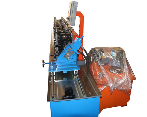 t bar steel grating roll forming making machine