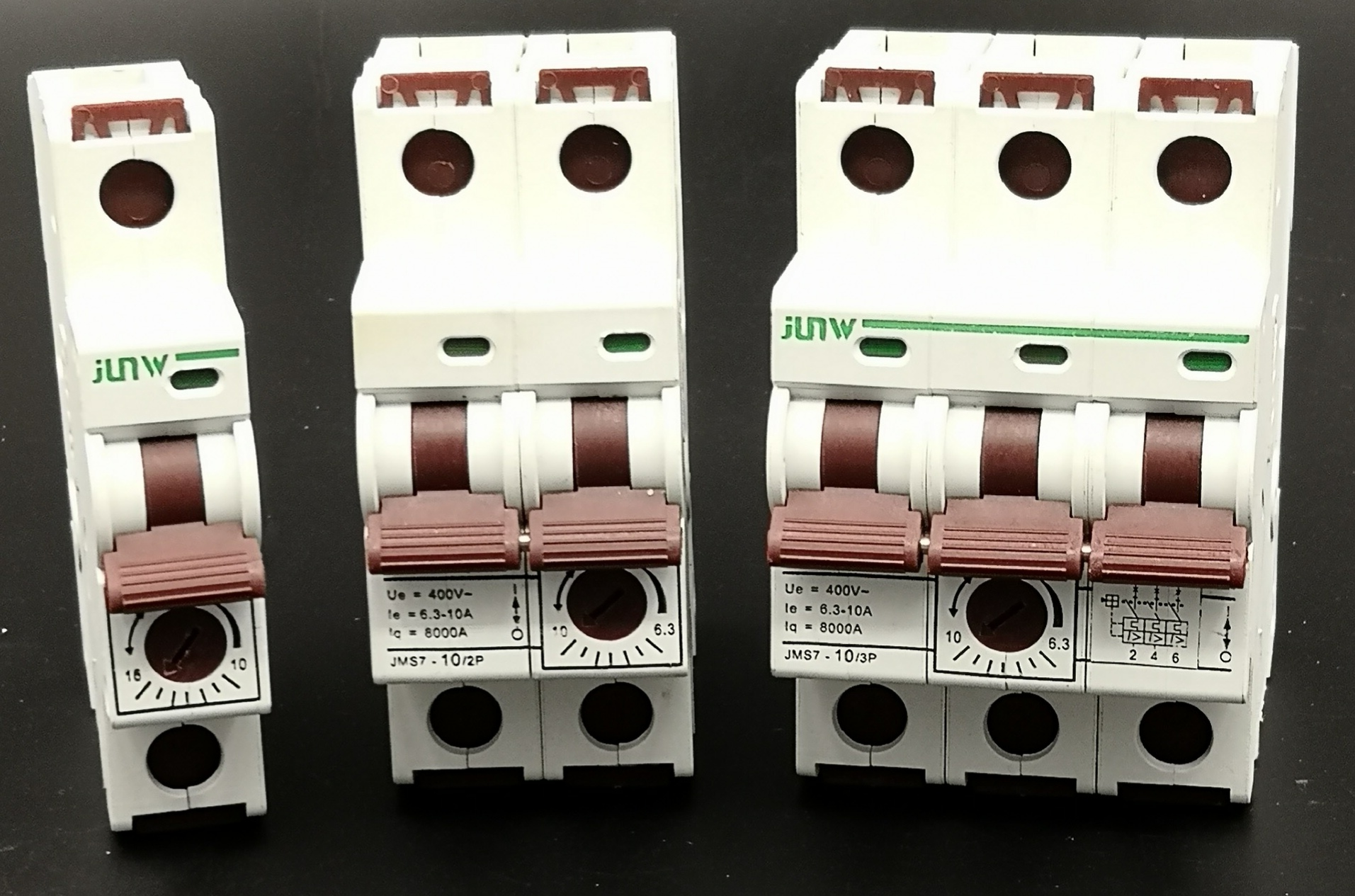 New design type 1P/2P/3P/4P 1A~63A adjustable current Mini circuit breaker