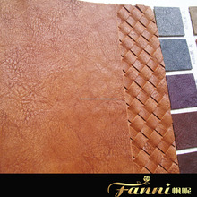 Synthetic leather for making handbags/Synthetic PU Leather for Shoes and bags/bag leather material PU rexine