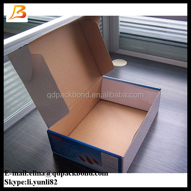 Custom printing double wall corrugated box, corrugated cardboard manufacturing plant