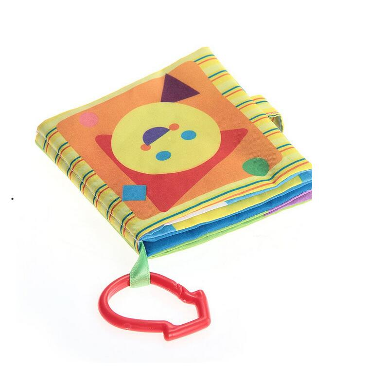 Baby polyester cloth book fabric baby learning books
