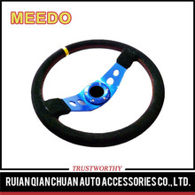 "aftermarket oxidize 3.54""dish two spoke deep dish alloy steering wheel"