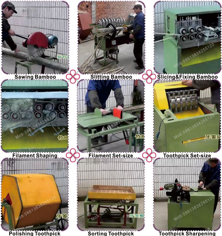 Machine Manufacturer Making Machine Bamboo Toothpick Machine
