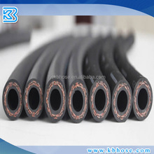 SAE J188 3/8 inch steering high pressure hose/two layers of wire reinforced flexible/ flexble fiber high pressure air hose
