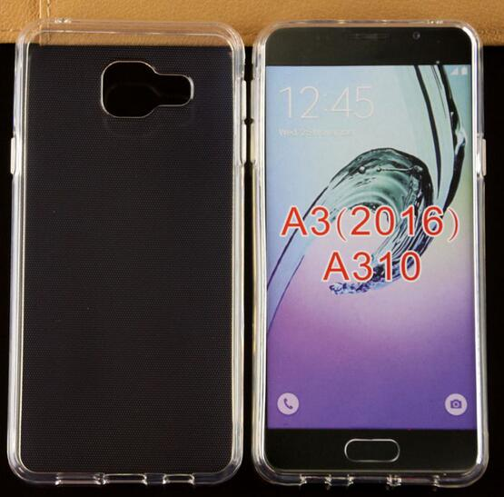 Mobile Phone Soft Clear TPU Case for Samsung Galaxy A3 2016 Smart Phone