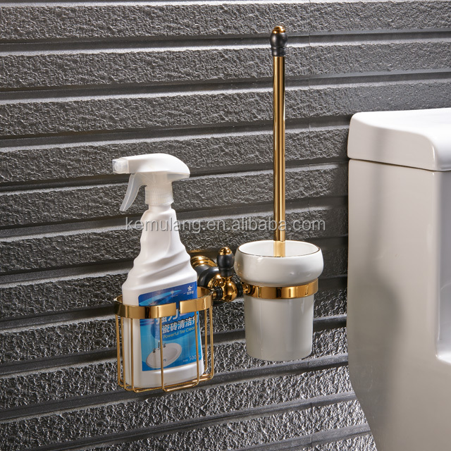 brass toilet brush and holder for bathrooms fittings,Bathroom accessories