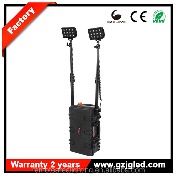 led remote area lighting system RLS512722-72w Portable police military supplies