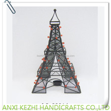 LC-89314 Decorative Metal Eiffel Tower with Tealight Candle Holder