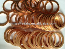 Outlet Centrer:Good Price Solid Copper Gasket