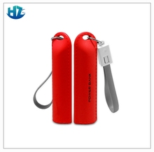 perfume mobile pack 2600mah emergency keychain power bank external battery charger