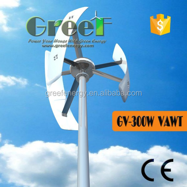 300W Vertical Wind Turbine Funding
