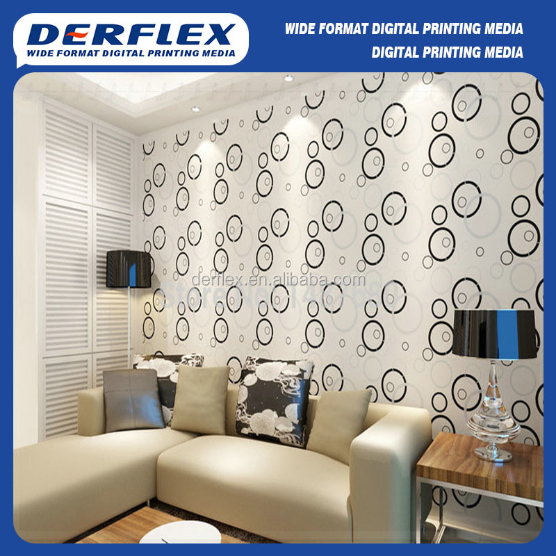 building decorative pp wall paper rolls film