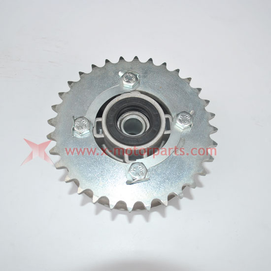 PW80 PY80 REAR SPROCKET HUB WHEEL FOR YAMAHA PW 80 PEEWEE PY BACK JIANSHE